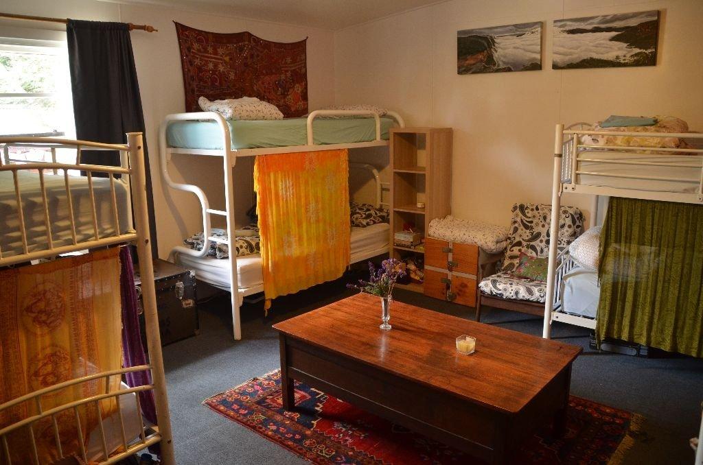 Dorm room at our Hostel