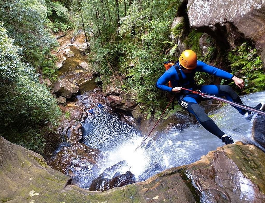 canyoning blue mountains katoomba