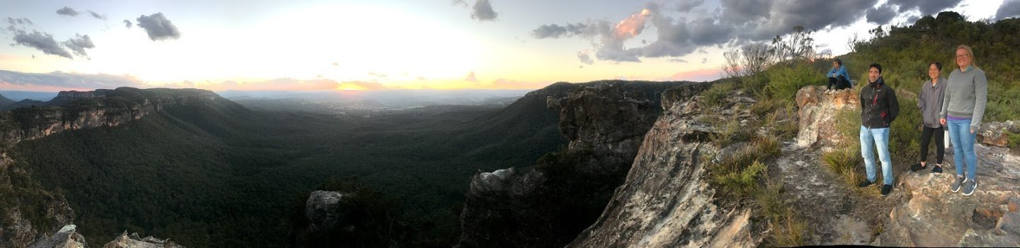 Pano of Narrow Neck Plateau